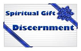 spiritual gift of discernment