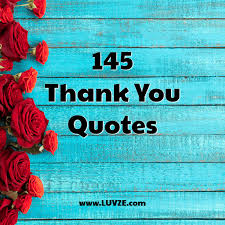 thank you quotes and sayings beautiful images