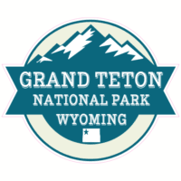 Grand Teton National Park Wyoming Sticker U S Custom Stickers