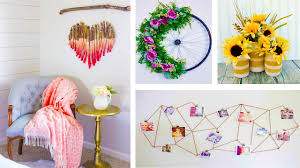 crafts for room decor easy craft ideas