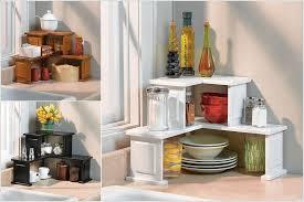 kitchen counter corner storage