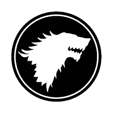 Game Of Thrones Stark Badge Vinyl Decal Sticker