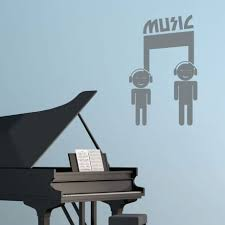 Music Wall Decal Symbol Vinyl Decor Wall Decal Customvinyldecor Com