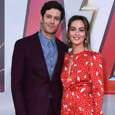 Adam Brody and Leighton Meester at Shazam! Premiere 2019 ...