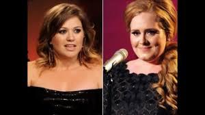 Adele vs. Kelly Clarkson - YouTube