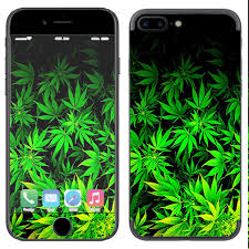 Skin Decal Vinyl Wrap For Apple Iphone 7 Plus Weed Gonja 648620469823 Ebay