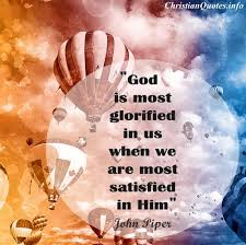 the best and most comprehensive to god be the glory quotes and