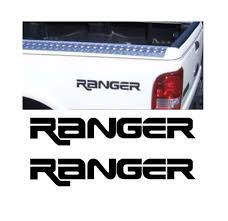 Ford Ranger Sticker Set Of 2 12 X 1 6 Truck Decals Custom Sticker Shop