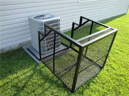 Custom Ac Security Cages Air Unit Cage Ac Enclosure Property Armor