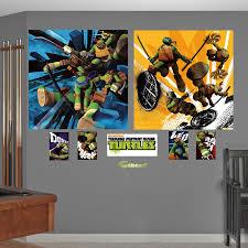 Tmnt Wall Decals Custom Michelangelo For Bathroom Design Target Living Room Sale Quotes Vamosrayos