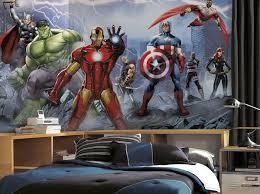 Avengers Assemble Giant Xl Mural 6 5 X 10 Feet Avengers Room Superhero Room Wall Stickers Marvel