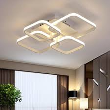modern overlapping squares led light