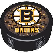 Boston Bruins Hockey Puck 3in x 1in ...