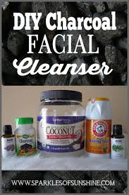 diy homemade charcoal cleanser