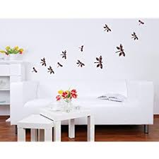 Amazon Com Style Apply Dragonfly Set Wall Decal Wall Print Decal Sticker Mural Vinyl Art Home Decor Ds 697 16in X 16in Home Kitchen