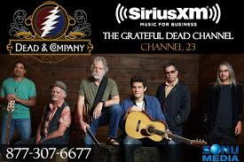 dead company live siriusxm music for business