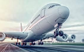 تحميل خلفيات طائرة ركاب الاقلاع السفر الجوي المفاهيم نقل الركاب