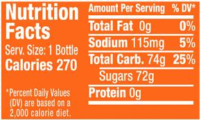 sunkist g soda 20 fl oz bottle