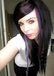 emo pink black hair sitemodel