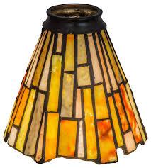 5 delta jadestone fan light shade