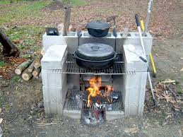 portable outdoor fireplace diy