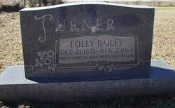 "Mary Jane ""Polly"" Bailey Turner (1871-1968) - Find A Grave Memorial"