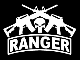 Oracal Army Ranger Veteran Military Vinyl Decal Car Sticker Truck Choose Size Color