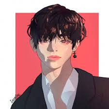 taehyung fanart thanks for the