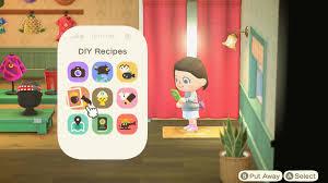 Every Animal Crossing New Horizons Crafting Recipe We Ve Unlocked So Far Gamesradar