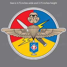 Us Marine Corps First 1st Detachment Ussocom Military Bumper Sticker Window Decal