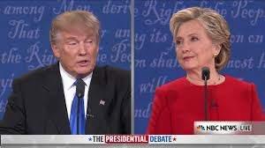 2016 Presidential Debate Between Trump ...