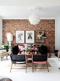 exposed brick work in the interior