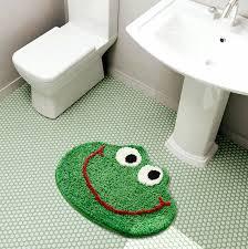 Frog Bathroom Rug Cartoon Carpet Tapis Toilet Kitchen Area Floor Mat Door Mats Soft Anti Slip Rugs Home Kids Room Nursery Decor Rug Aliexpress