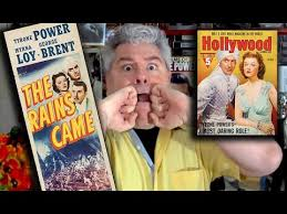DISASTER MOVIE REVIEW: Tyrone Power in THE RAINS CAME - STEVE HAYES: Tired  Old Queen at the Movies - YouTube