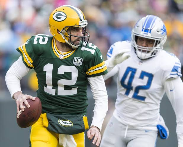 """Image result for Aaron Rodgers Is Excited To Get Back On A Field Full Of Offensive Weapons"""""""