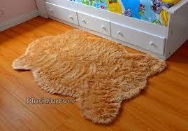 faux fur rug sheepskin rug baby nursery