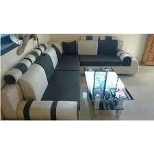 suede designer corner sofa set rs