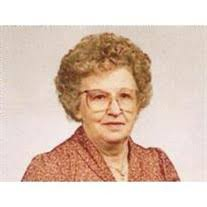 Myrtle Fox Obituary - Visitation & Funeral Information