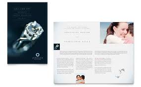 jewelry flyer template formating