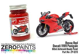 ducati rosso red paint for 1199