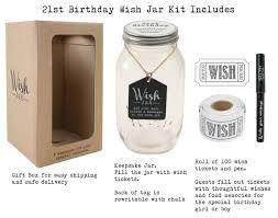 top shelf 21st birthday wish jar