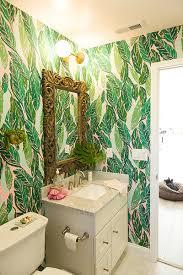 jungalow retreat modern bathrooms lonny