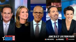 Moderators Set for NBC News/MSNBC Democratic Primary Debate ...