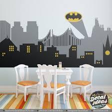 Superhero Wall Decals Batman Wall Decal Avengers Wall Decals Peel And Stick Wall Decals Printed M In 2020 Superhero Wall Decals Superhero Wall Batman Wall