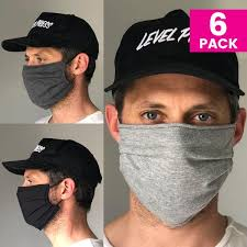 Daily Face Cover 6-Pack (MIXED) – Braddock