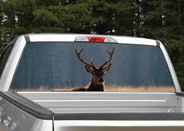 Elk Rear Window Graphic Miller Graphics