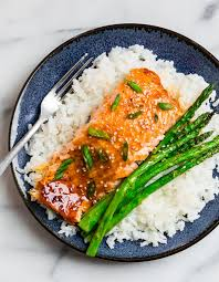 Teriyaki Salmon {Ready in 25 Minutes ...
