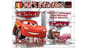 Kit Imprimible Invitaciones Carteles Set Theme Party Full