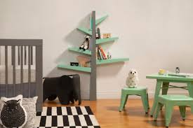 New Spruce Tree Bookshelf Wall Mount Kid Child Playroom Storage Space Bookcase Ebay