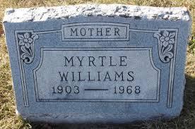 Myrtle Williams (1903-1968) - Find A Grave Memorial
